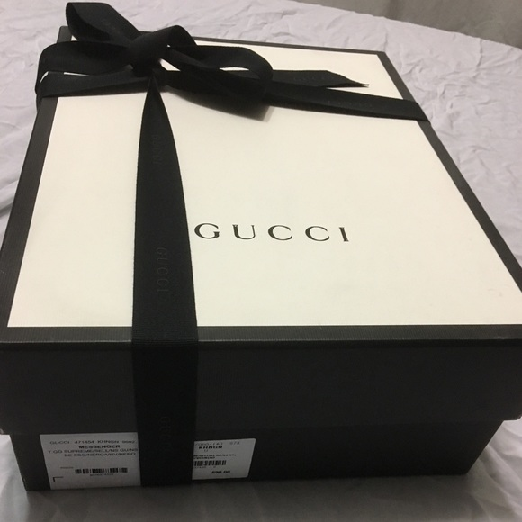 ed7db1f0d20 Gucci Other - GUCCI Empty Box With Dustbag   Ribbon   Care Cards